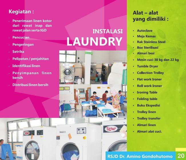 Instalasi Laundry & Sterilisasi