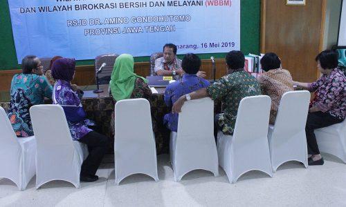 Penilaian WBBM Oleh TPI prov jateng