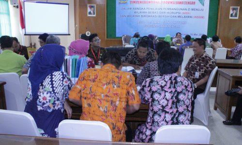 Penilaian WBK-WBBM oleh TPI Jateng