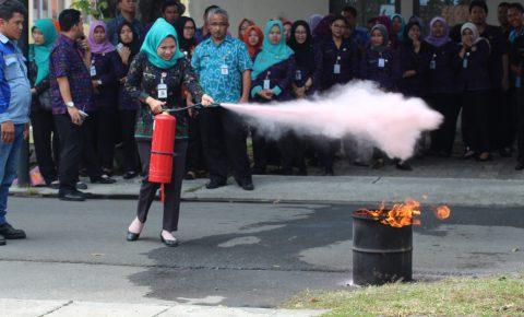 Bimbingan Tekmis Penanggulangan Bencana dan Kebakaran
